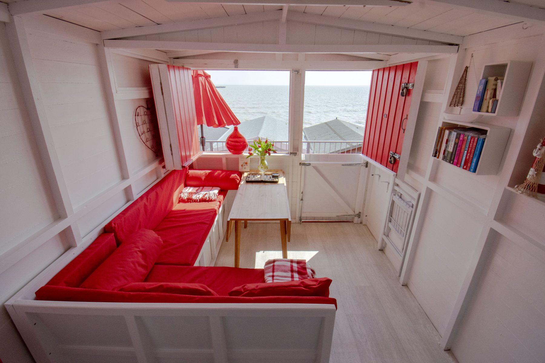 beach hut hire